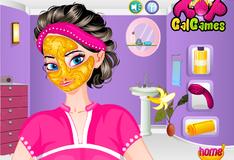 Игра Банановая маска Эльзы