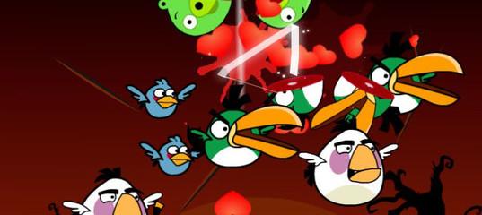Игра Вулканный Angry Birds