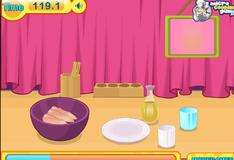 Игра Сэндвич с курицей барбекю