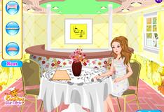 Барби в кофейне