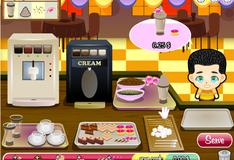 Игра Посетители кофейни