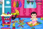 Играть бесплатно в Игра Уход за ребенком и купание