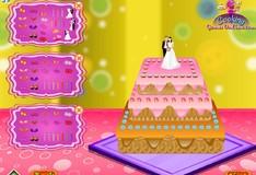 Игра Игра Украшение свадебного торта