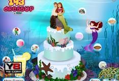 Игра Игра Свадебный торт Русалочки