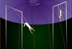 Цирковые гимнасты