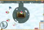 Спанч Боби играет в снежки