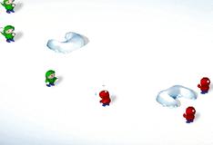 Игра Играть в снежки