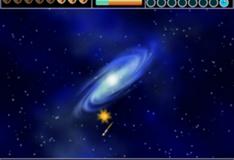Игра Галактические огненные шары