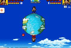 Игра на двоих в мяч на планете