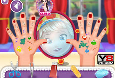 Игра Игра Малышка Эльза: операция на руке