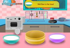 Игра Приготовление торта из клубники