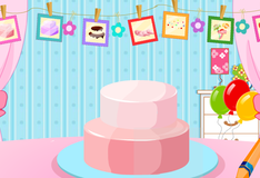 Игра Украшение клубничного торта