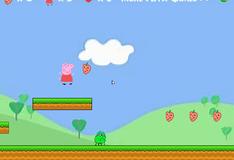 Игра Свинка Пеппа собирает клубнику