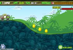 Игра Игра Злые птички - мотоцикл-ракета