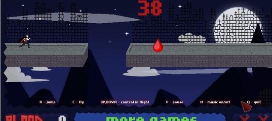 Игра Вампиры Кровавый забег