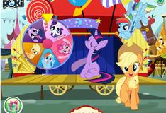 Игра Игра пони Искорка в цирке