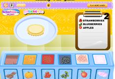 Игра Повар украшает пироги