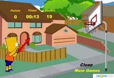 Игра Игра Баскетбол Симпсоны