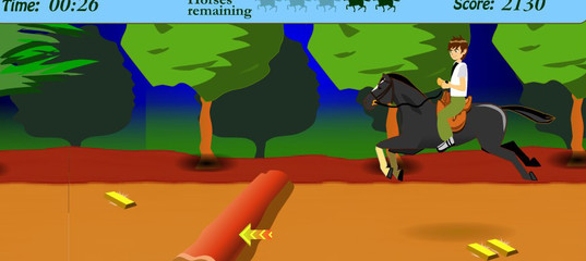 Игра Бен 10: Лошадь