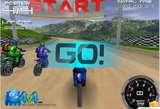 Игра Игра Мотокросс Развязанный 3D
