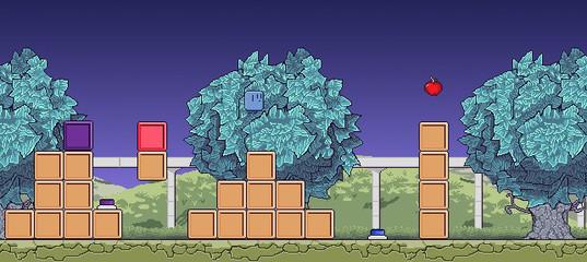 Игра Пиксельные прыжки