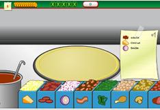 Игра Готовка пиццы и разной еды