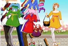Игра Весенний наряд