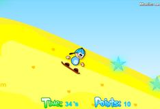 Игра Сноубординг на песке