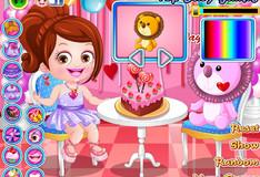 Игра Игра Малышка Хейзел: Одевалка на День Святого Валентина