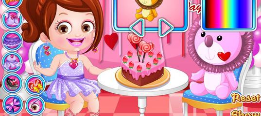 Игра Малышка Хейзел: Одевалка на День Святого Валентина
