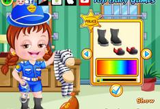 Игра Игра Малышка Хейзел: Полицейская одевалка