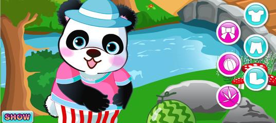 Игра Симпатичная панда