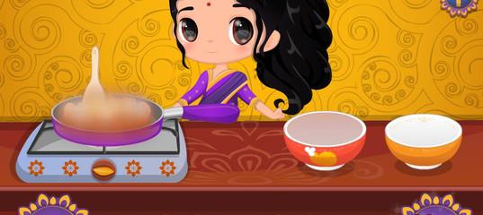 Игра Малышка путешествует по миру и готовит еду: Индия