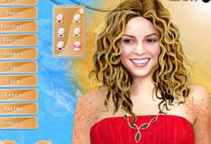 Игра Игра Макияж для Шакиры