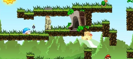 Игра Лесные Приключения Марио