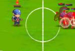 Игра Герои Марвел играют в футбол