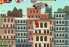 Железный человек спасает город