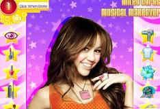 Игра Игра Майли Сайрус Музыкальный макияж
