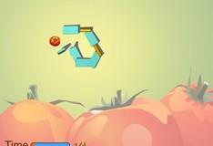 Игра Игра Разрушение томата с помощью домино