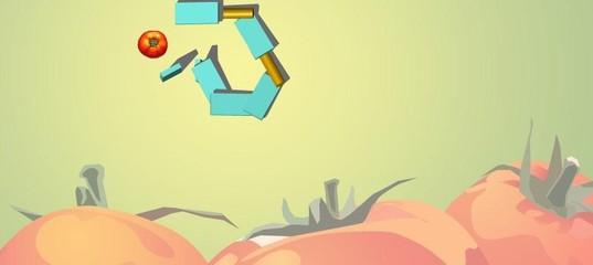 Игра Разрушение томата с помощью домино