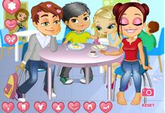 Игра Страсти в кафетерии