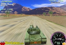 Игра Игра 3D Танки гонки