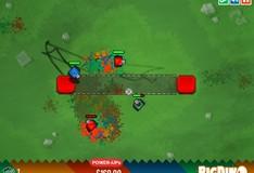 Игра Игра на двоих: Игра Цветные танки