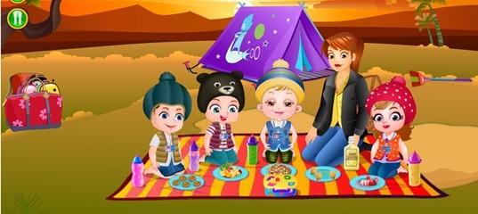 Игра Малышка Хейзел: Летний лагерь