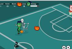Игра баскетбол с костями