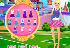 Барби собирается в школу