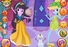 Игра Игра Девушки Эквестрии Встречают Дисней