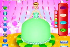 Игра Игра Барби торт