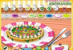 Игра Игра Украшение праздничного пирога