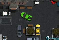 Игра Игра Парковка зеленой машины